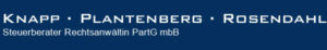 Knapp · Plantenberg · Rosendahl Steuerberater Rechtsanwältin PartG mbB